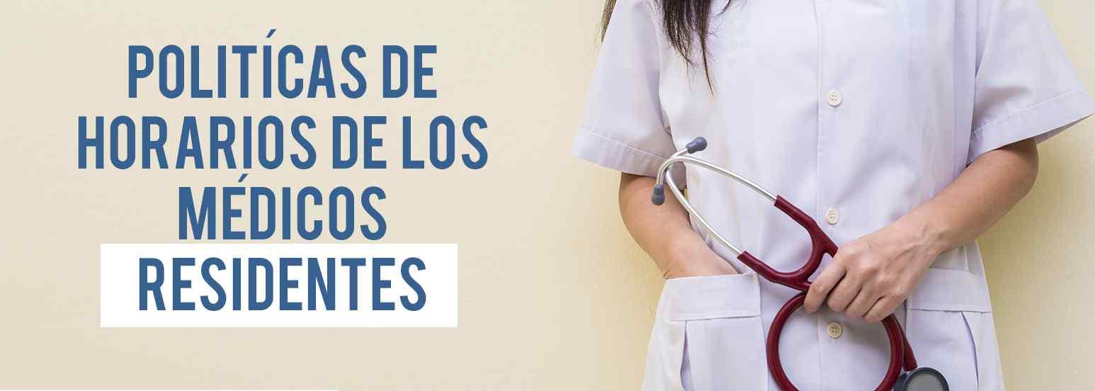 horarios de los médicos residentes